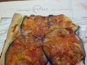 Eataly Torino Eggplant Pizza